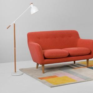 Dylan 2-Sitzer Sofa, Retroorange