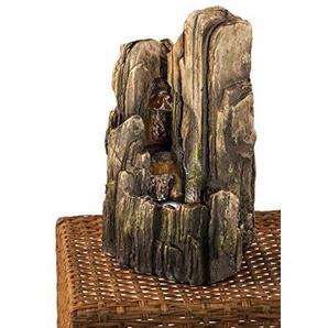 Heissner Zimmerbrunnen Stone Look Steingrau