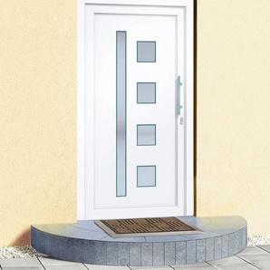 RORO Kunststoff-Haustür »Luxemburg«, nach Wunschmaß, Anschlag rechts oder links