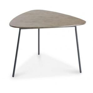 Beistelltisch Andros grau BEST FREIZ 23851050 (BHT 80x77x55 cm)