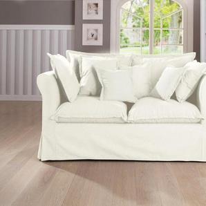Home affaire 2-Sitzer »Luise«, wahlweise mit Bettfunktion, beige