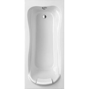 Ottofond Körperform-Badewanne Jamaica 170 cm Weiß