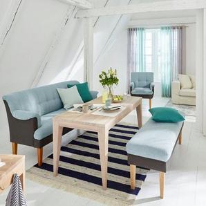 GMK Home & Living Tischsofa «Luunja», in 2 Breiten, blau