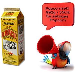 Flavacol Popcornsalz ,Salz für salziges Popcorn