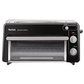 Tefal® Toast n' Grill Toaster schwarz