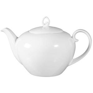 Seltmann Weiden Teekanne / Kanne 1,2 l RONDO UNI Weiß