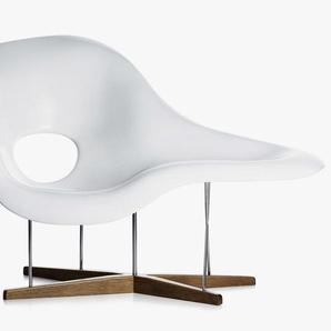 Eames La Chaise - Weiß