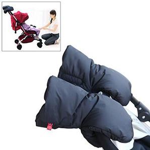 Soldmore7 Kinderwagen-Handmuff/Handmuff für den Winter, warm, für Eltern und Betreuer, Wasserdichte Kinderwagen, Handschuhe, Kinderwagen-Zubehör