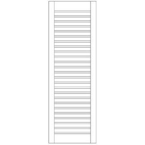 Rankgitter / Zaunelement Sina Lärche natur 60x180cm