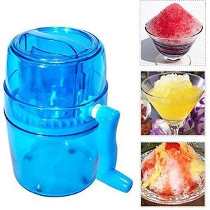 Eiscrusher, manuelle Eiscrusher Handkurbel Eisgrinder tragbare Hand Eiswürfelschneider Maschine Maker Blender Home Verwendung für Schnee Kegel gefrorene Getränke Smoothie