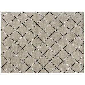 Berber-Teppich  Marrakesh Design simple ¦ grau ¦ reine Wolle ¦ Maße (cm): B: 170 Teppiche  Wohnteppiche » Höffner