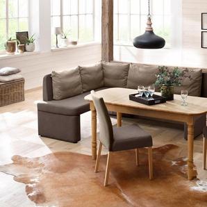 Home affaire Eckbank »Nin«, in verschiedenen Farben und Qualitäten
