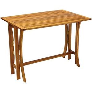 Ambia Garden: Tisch, Akazie, Akazie, B/H/T 70 74 100