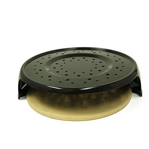 Pizzacraft Pc0316 Pizza Backen Kit für Gasgrills, Mehrfarbig, 43 x 43 x 10.49 cm, 43x43x10,49 cm