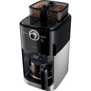 Philips Kaffeemaschine mit Mahlwerk HD7766/00 Grind & Brew, schwarz