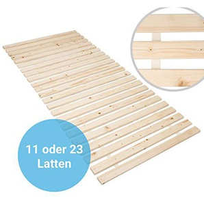 Panorama24 Rollrost Basic 80x200 (11 Latten) Rolllattenrost Lattenrost Bettrost Rollroste Holzlatten Latten Rost