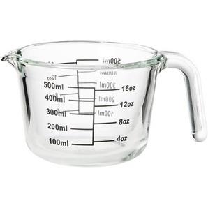 Butlers Recipe Messbecher aus Glas 500 ml