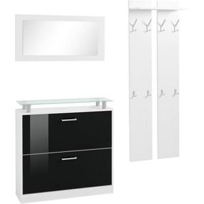 Garderoben in Schwarz Preisvergleich | Moebel 24