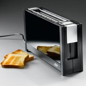 Ritter Volcano 5 Langschlitz-Toaster, schwarz