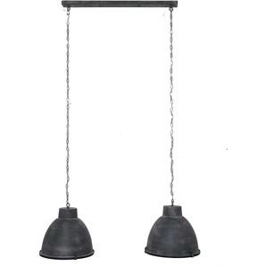 Hängeleuchte in Dunkelgrau Industriedesign