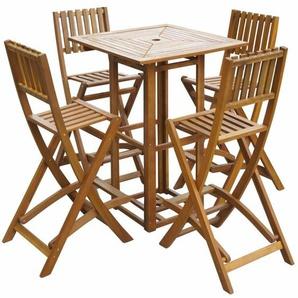 4-Sitzer Bartisch-Set Haney