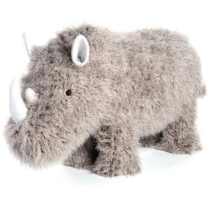 Hocker Urzeit Rhino, 116x36x64cm, grau