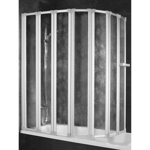Schulte Badewannenaufsatz Weiß Softline hell 159 x 140 cm