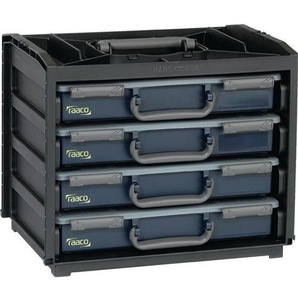 RAACO Sortimentskastentresor 376 x 265 x 310 mm mit je 2 Sortimentskästen bestückt HandyBox