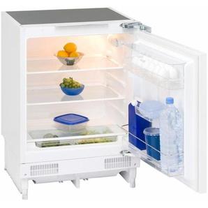 vollintegrierbarer Unterbau-Kühlschrank UKS 140-1 RV A+, weiß, Energieeffizienzklasse: A++, Exquisit