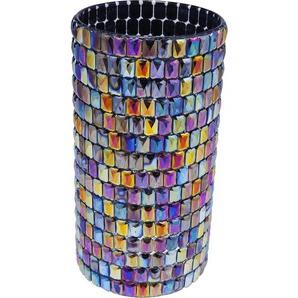 Vase Rainbow Diamonds rund 22cm