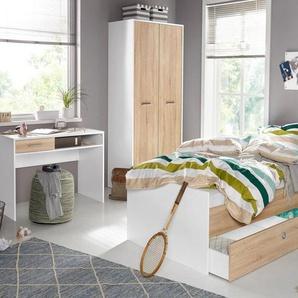 Jugendzimmer-Set (5-tlg.), weiß