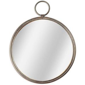 Spiegel Antik, rund, D:40cm, altgold