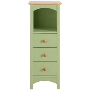 Kommode, grün, Gr. 90/35/35cm,  home