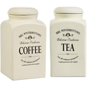 Butlers Mrs. Winterbottoms Kaffee- und Teedose Set 1,3 l
