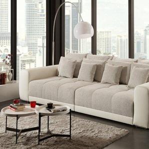 Außergewöhnliches XXL Sofa GIANT LOUNGE 305cm in Trendfarbe Greige