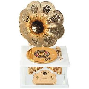 Sidiou Group Kreativ klassisch Grammophon Modell Spieluhr Phonograph Lovely Spieluhr Romantische Spieluhr Retro Spieldose