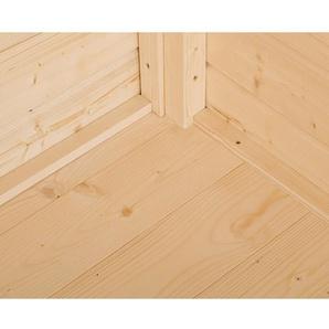 Weka Fußboden für Holzgerätehaus Easy A