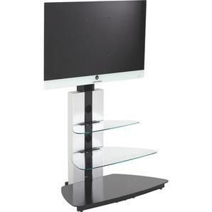 : TV-Rack, Schwarz, B/H/T 90 120 54.5