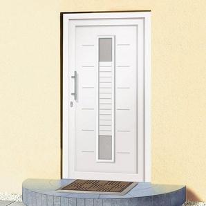 Roro Kunststoff-Haustür »A906« BxH: 100 x 200 cm, weiß