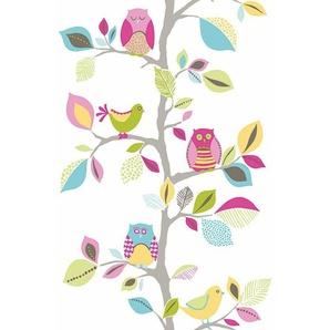 Bordüre »pop.up Panel«, gemustert, mehrfarbig, floral, glatt