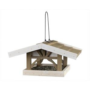 TRIXIE Vogelhaus »Giebel«, grau/braun, zum Hängen, B/T/H: 46/44/22 cm