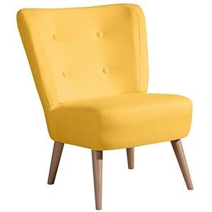 Max Winzer® Stuhlsessel im Retro-Design »Nikki«, mit Holzbeinen