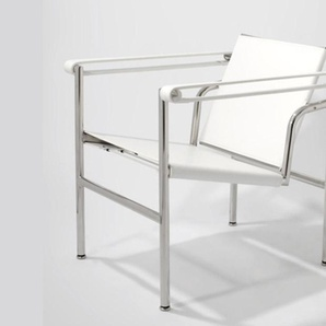 LC1 Stuhl Le Corbusier - Weiß