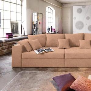 Nova Via Big Sofa ohne Schlaffunktion, braun