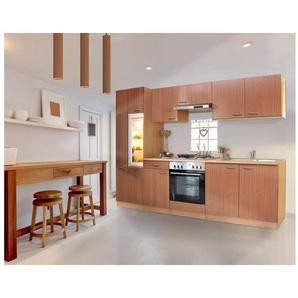 Respekta Küchenzeile mit Edelstahl-Kochmulde »Respekta Basic«, Breite 270 cm