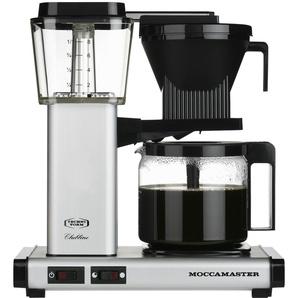 Moccamaster Kaffeeautomat  KBG 741 AO Matt Silver   silber   Kunststoff, Glas , Metall-lackiert   32 cm   36 cm   17 cm   Möbel Kraft