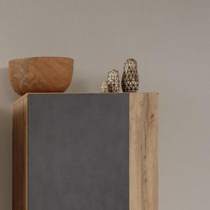 Trendteam Hängeschrank »Rock«, grau, pflegeleichte Oberfläche, FSC®-zertifiziert
