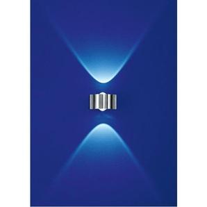 B-Leuchten Innen und Außen LED Wandlampe / Badezimmerlampe 2 flg STREAM