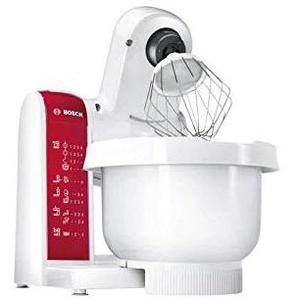 Bosch Mum 48RE Küchenmaschine 600 Watt - Weiß/Rot