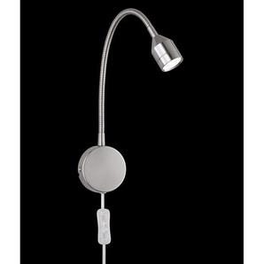 FISCHER & HONSEL flexible LED Wandlampe 1 flg LOVI Nickel